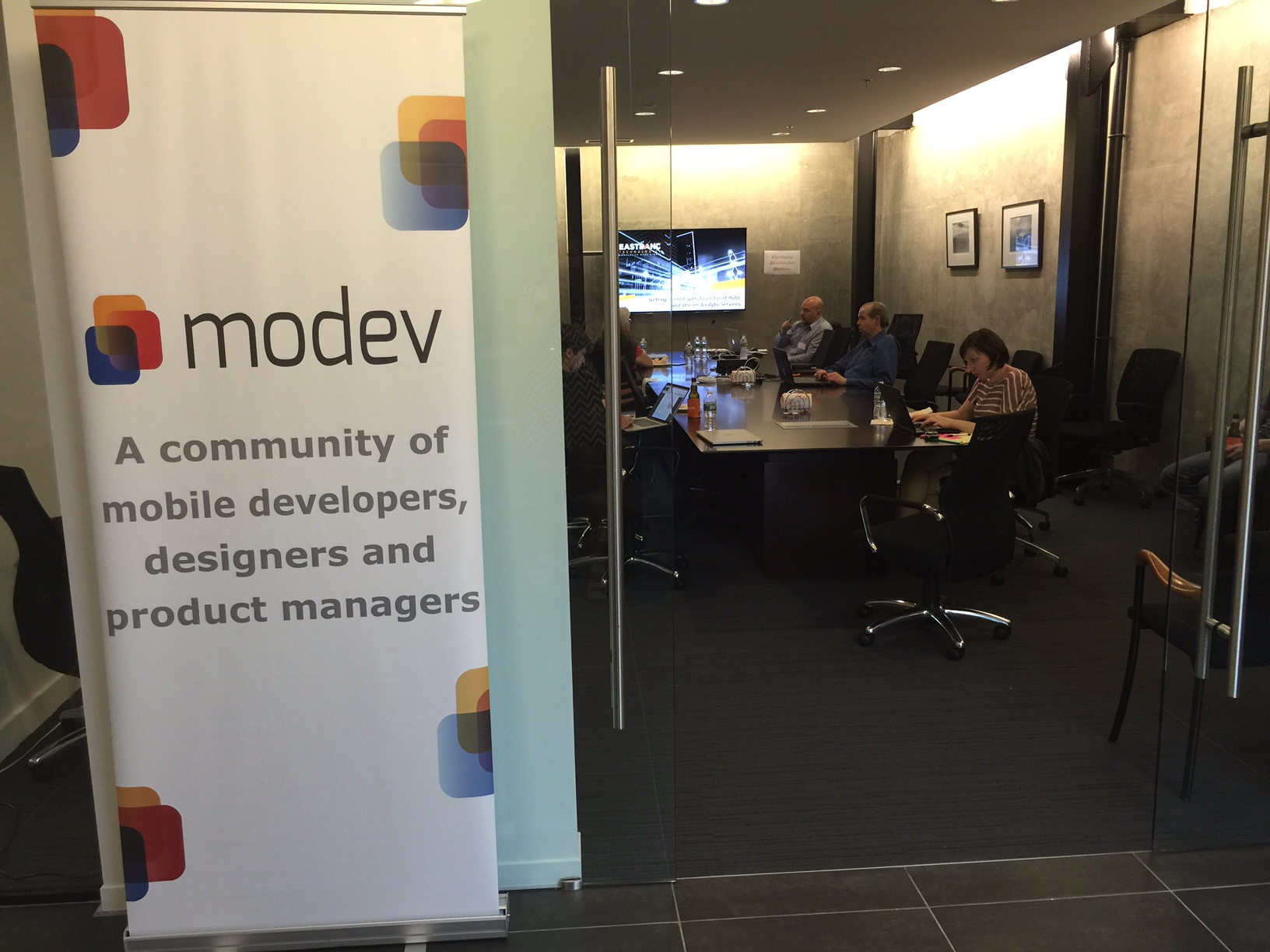 Modev meetup picture