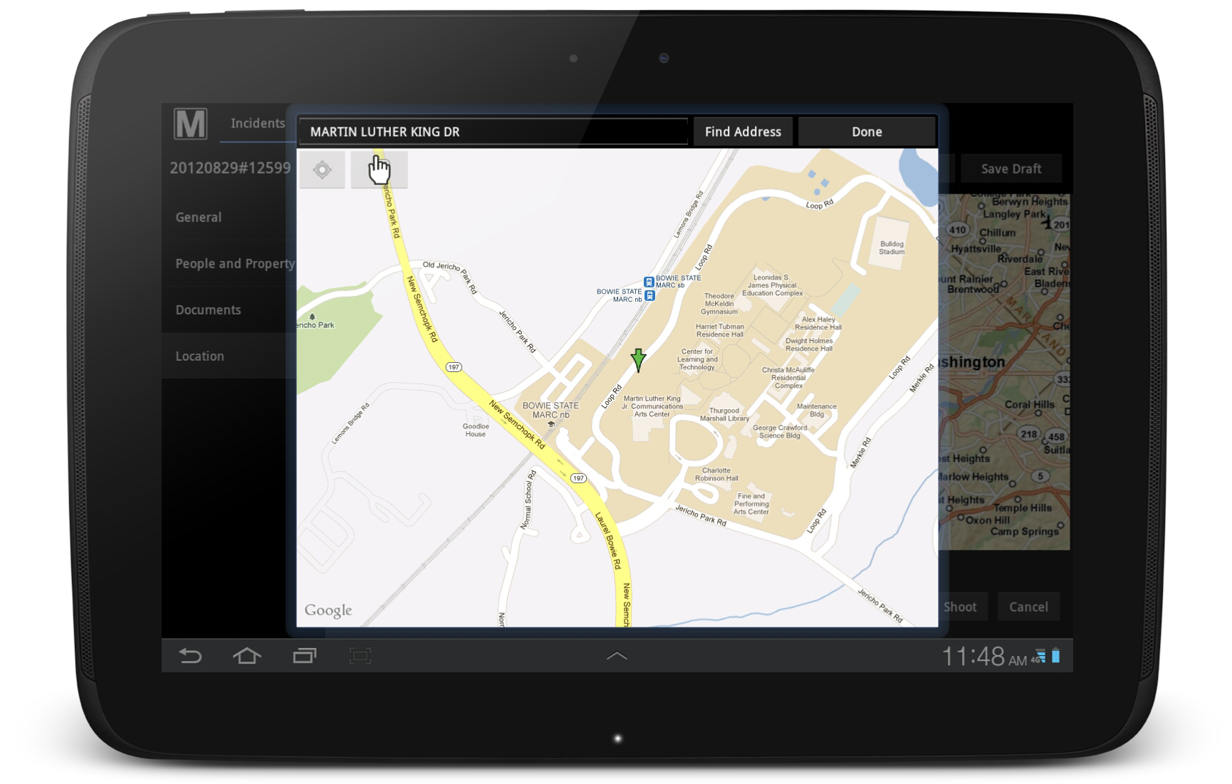 sms-on-tablet