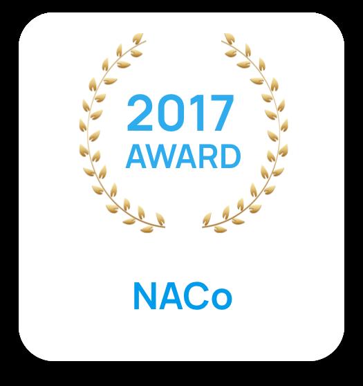 snowiq badge NACo